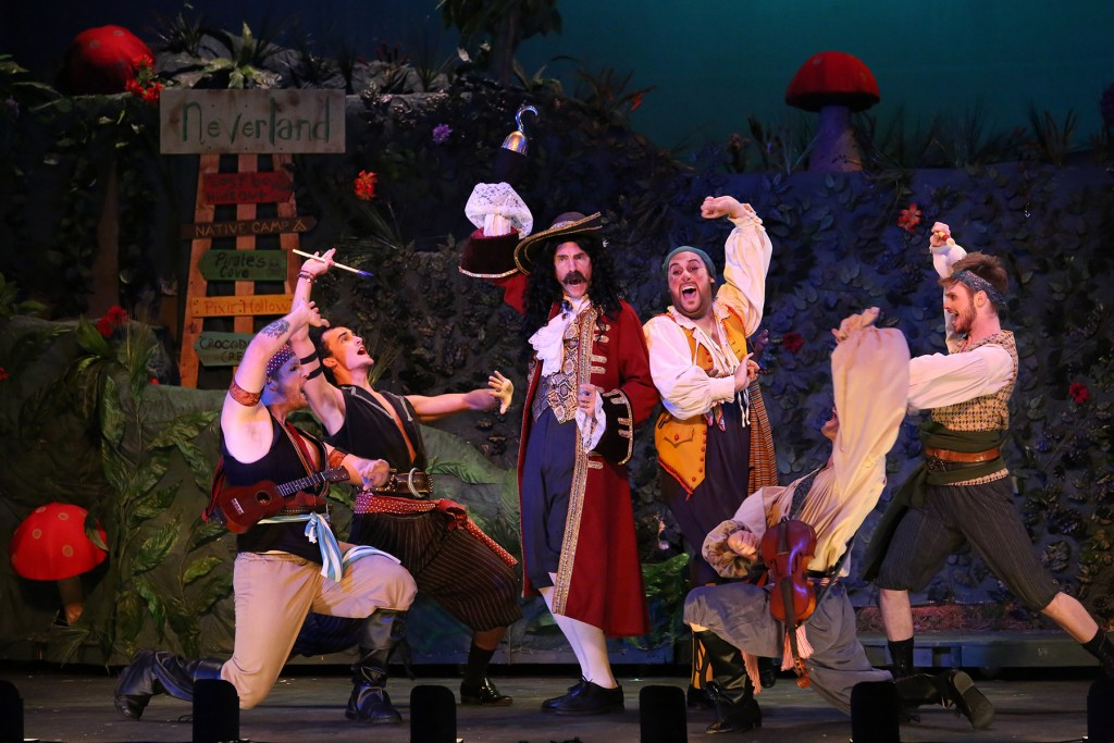 Captain Hook, Smee & Pirates