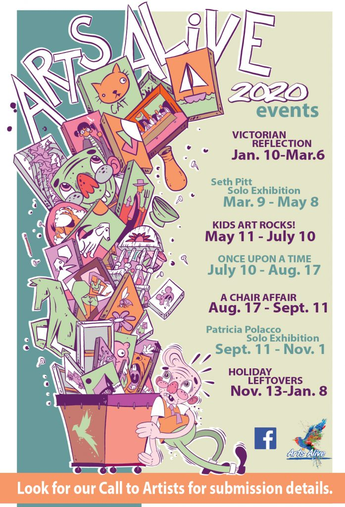 Arts Alive 2020 gallery show list